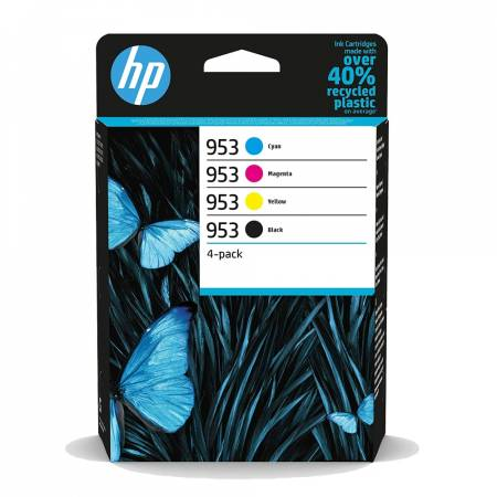 HP 953 CMYK Original Ink Cartridge 4-Pack