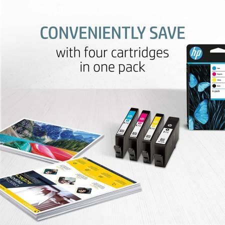HP 963 CMYK Original Ink Cartridge 4-Pack