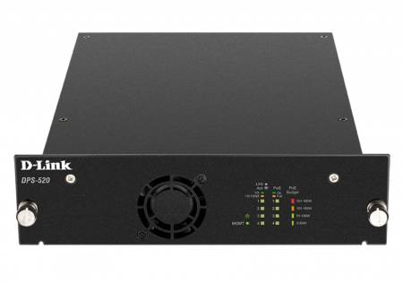 D-Link PoE Redundant Power Supply for DGS-1520-28 and DGS-1520-52