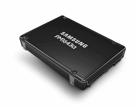"Samsung Enterprise SSD PM1643a 7680GB TLC V5 RFX 2.5"" SAS 2100 MB/s"