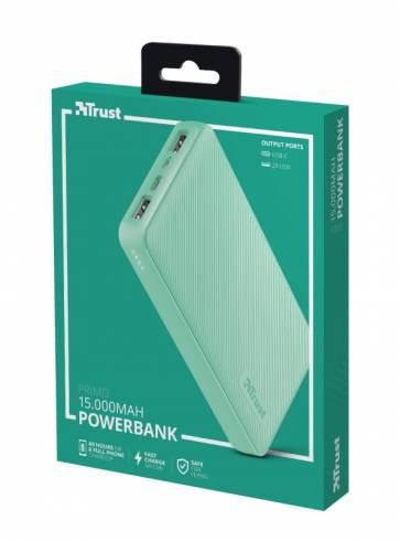 TRUST Primo Fast Powerbank 15000 mAh Mint