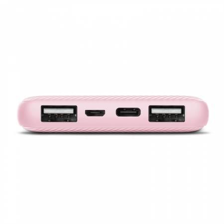 TRUST Primo Fast Ultra-thin Powerbank 10000 mAh Pink