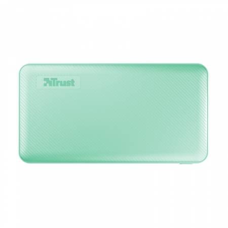TRUST Primo Fast Ultra-thin Powerbank 10000 mAh Mint