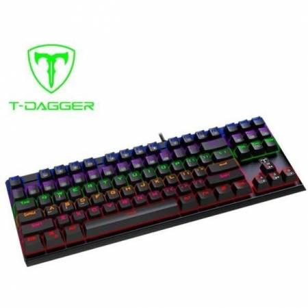 Механична геймърска клавиатура Redragon T-Dagger Corvette RD T-TGK302-RD