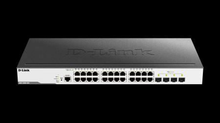 28 портов гигабитов L2 управляем комутатот D-Link DGS-3000-28X
