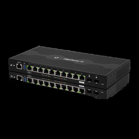 12-портов gigabit рутер Ubiquiti EdgeRouter 12 ER-12 с 2SFP порта