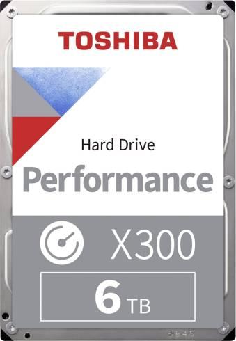 Toshiba X300 - High-Performance Hard Drive 6TB (7200rpm/256)
