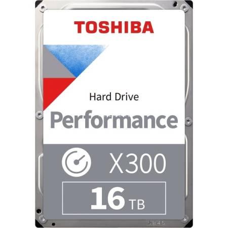 Toshiba X300 - High-Performance Hard Drive 16TB (7200rpm/512MB)