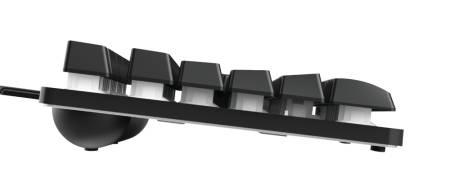 TRUST GXT 833 Thado TKL Gaming Keyboard US