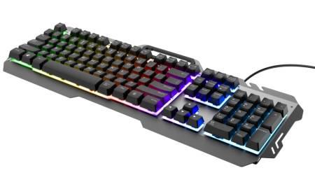 TRUST GXT 853 Esca Metal Gaming Keyboard US