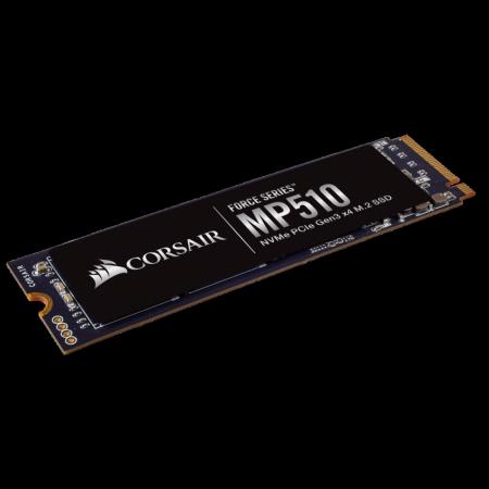 NVMe M.2 2280 SSD диск 960GB Corsair Force MP510 CSSD-F960GBMP510B