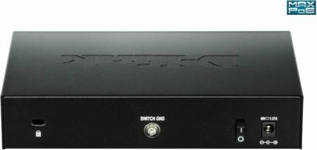 8-портов комутатор L2 Smart Gigabit Switch D-link DGS-1100-08