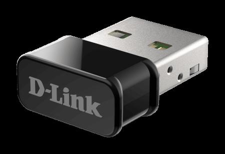 USB Wi-Fi нано адаптер D-Link DWA‑181 MU‑MIMO AC1300