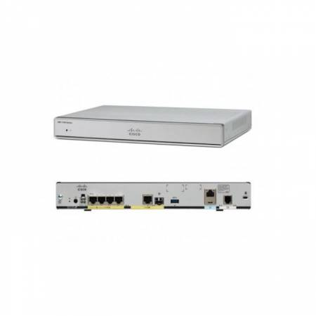 Cisco ISR 1100 4 Ports Dual GE Ethernet Router w/ 802.11ac -E WiFi