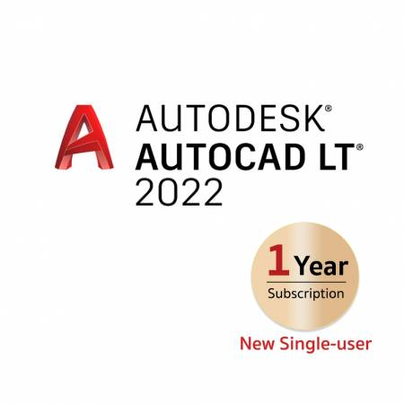 AutoCAD LT 2022 Commercial New Single-user ELD Annual Subscription