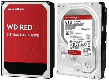 Western Digital Red Plus 8TB 256MB 7200rpm 256MB SATA3 NAS 3.5