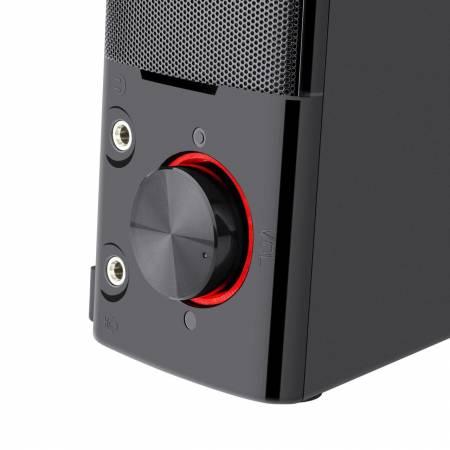 Стерео колонки Redragon Orpheus GS550-BK Red LED