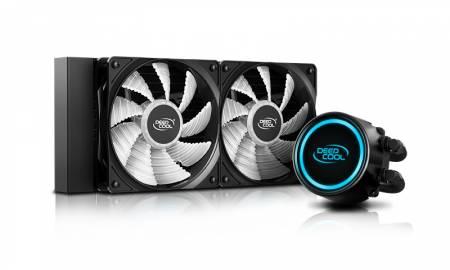 RGB водно охлаждане за Intel/AMD процесори DeepCool Gammaxx L240 V2 DP-H12RF-GL240V2