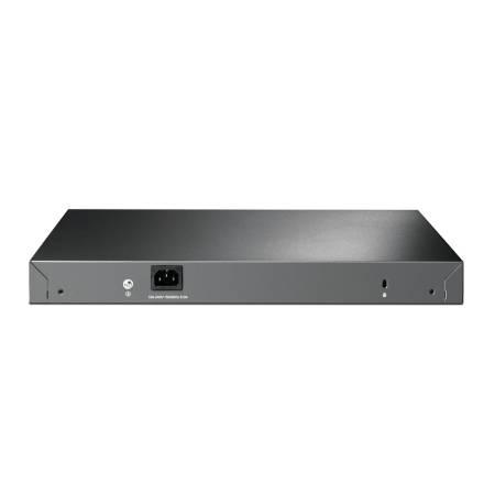 24-портов гигабитен PoE+ управляем комутатор TP-Link JetStream TL-SG3428XMP с 4 SFP+ порта