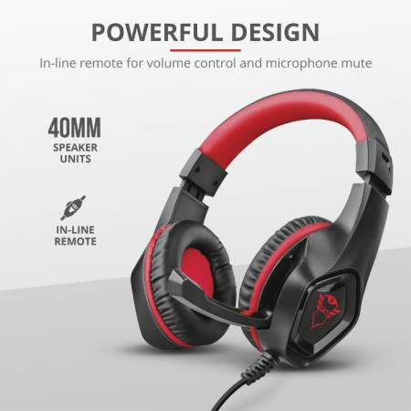 TRUST GXT 404R Rana Gaming Headset for Nintendo Switch