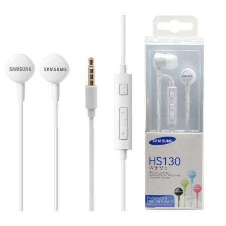 Стерео слушалки Samsung HS130 In-ear EO-HS1303WEGWW