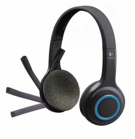 Безжични слушалки с микрофон Logitech H600 981-000342