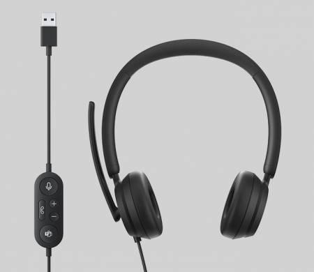 Microsoft Modern USB Headset Black