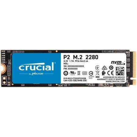 SSD диск Crucial 1000GB P2 M.2 NVMe PCIEx4 CT1000P2SSD8
