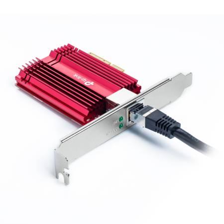 10Gbps PCI-e мрежова карта TP-Link TX401 с нископрофилна планка