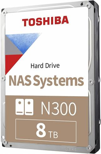 Toshiba N300 NAS Hard Drive 8TB (256MB) 3