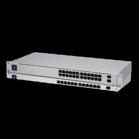 24-портов гигабит L2 управляем комутатор Ubiquiti USW-24
