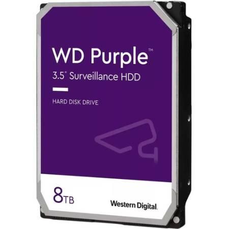 """Твърд диск WD Purple Surveillance 8TB 3.5"""" 5640rpm WD84PURZ"""