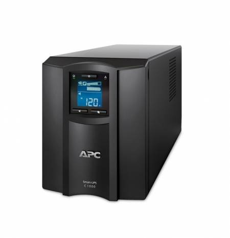 APC Smart-UPS C 1000VA LCD 230V with SmartConnect + APC Essential SurgeArrest 6 outlets 230V Germany