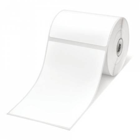 Brother BDE-1J152102-102 White Paper Label Roll