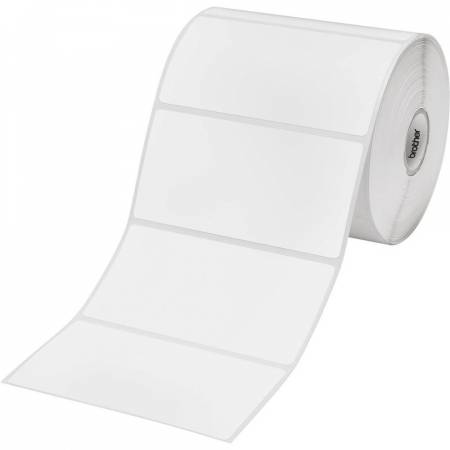 Brother BDE-1J050102-102 White Paper Label Roll
