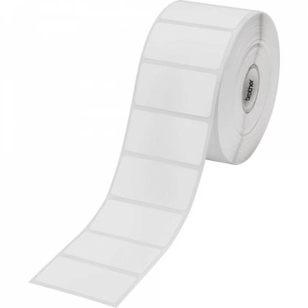 Brother BDE-1J026051-102 White Paper Label Roll