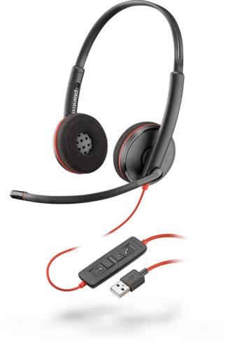 USB слушалки с микрофон Plantronics Blackwire C3220 209745-201