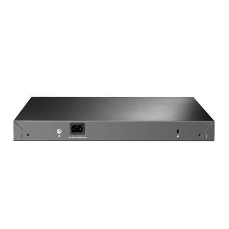 28-портов гигабитен L2 управляем комутатор TP-Link JetStream TL-SG3428MP PoE+ с 4 SFP слота