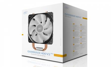 Охладител за Intel/AMD процесори DeepCool Gammaxx 400 V2 DP-MCH4-GMX400V2-BL син LED