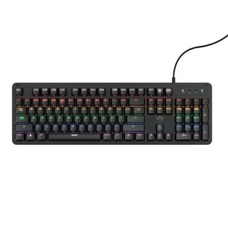TRUST GXT 863 Mazz Mechanical Illuminated Keyboard US
