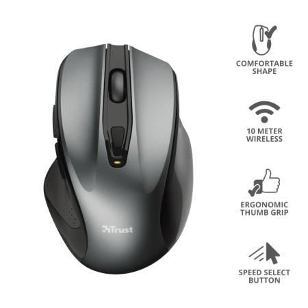TRUST Nito Wireless Ergonomic Mouse