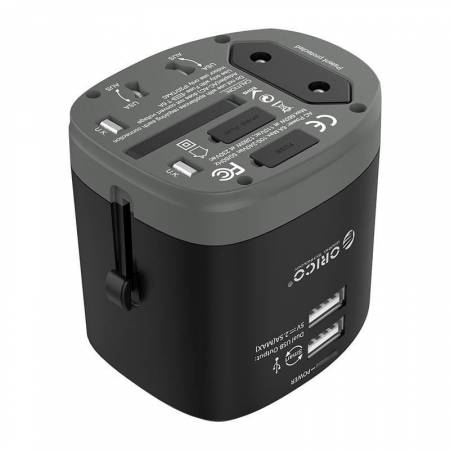 Универсално зарядно устройство/адаптер Orico UTT-2U01