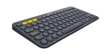 Logitech K380 Multi-Device Bluetooth Keyboard - US Intl - Dark Grey