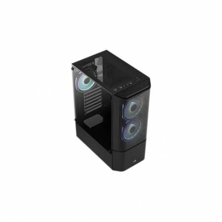 Кутия за настолен компютър AeroCool Quantum Mesh V3 страничен панел от закалено стъкло ATX mid tower