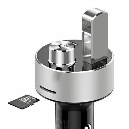 Bluetooth зарядно за кола Orico UBT-2U 15.5W сребрист