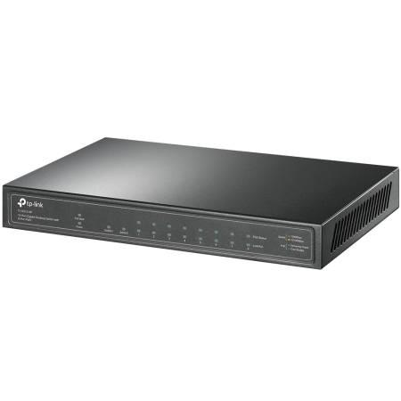 10-портов гигабитен настолен комутатор TP-Link TL-SG1210P с 8-PoE+ порта
