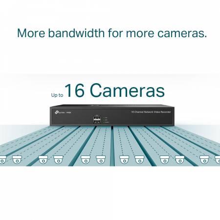 16-канален NVR TP-Link VIGI NVR1016H