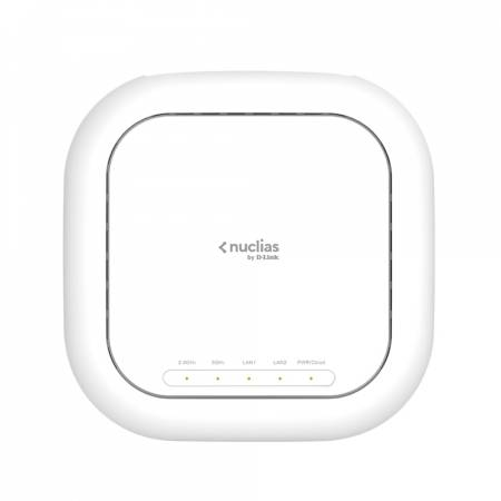 D-Link Nuclias Wireless AX3600 Cloud Managed Access Point (with 1 Year License)