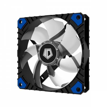 Охлаждащ вентилатор ID-Cooling WF-12025-XT-B 120 мм blue LED