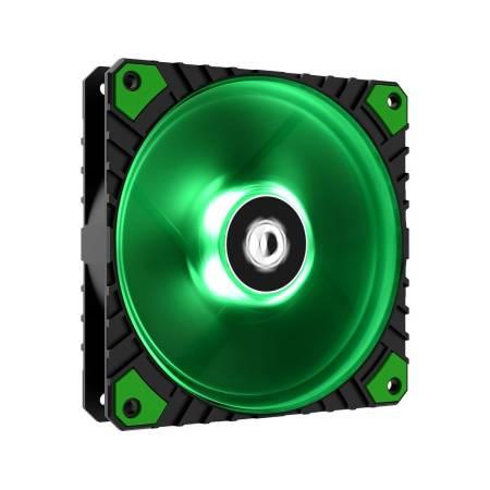 Охлаждащ вентилатор ID-Cooling WF-12025-XT-G 120 мм green LED